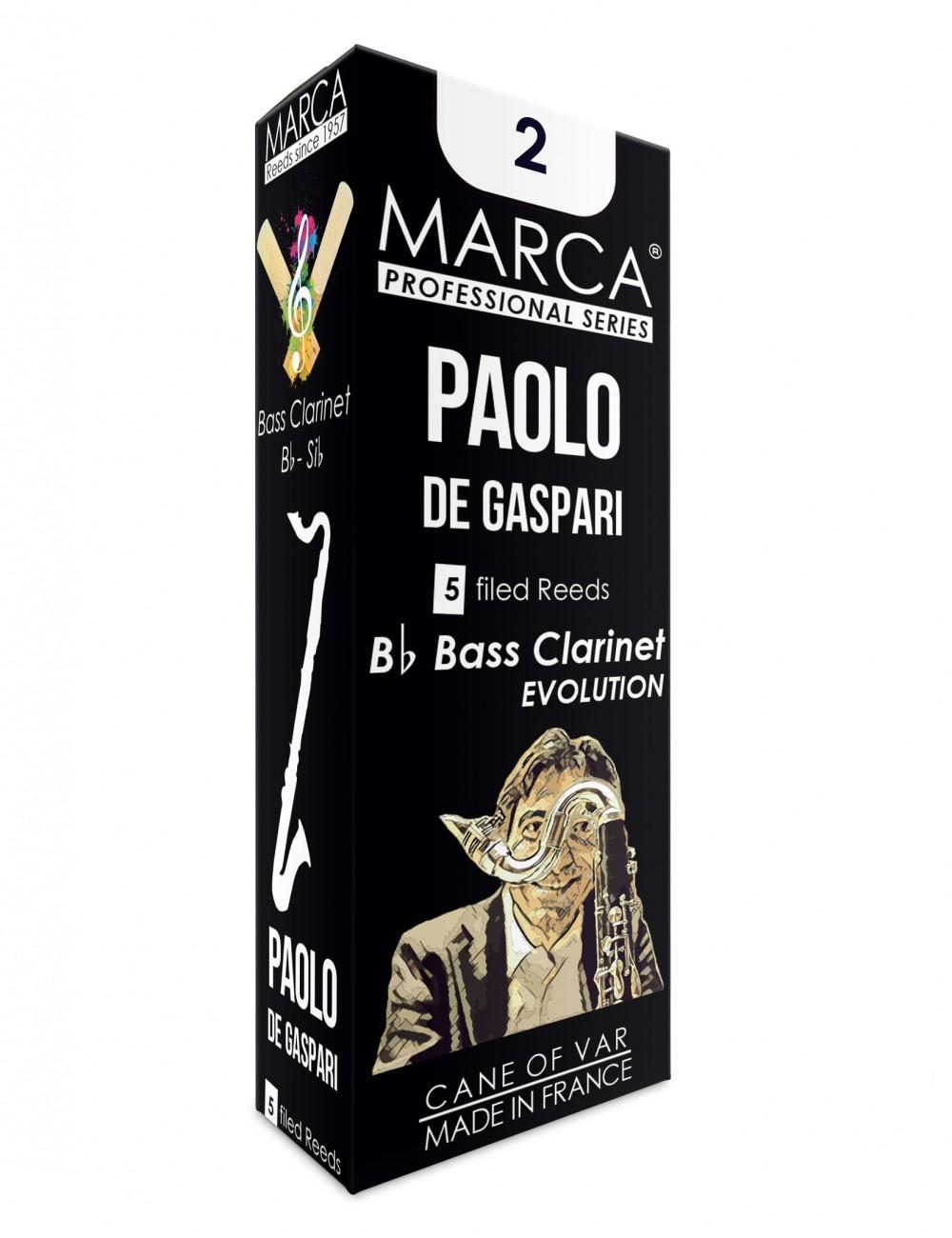 5 REEDS MARCA PAOLO DE GASPARI BASS CLARINET 2
