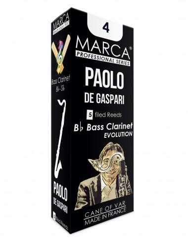 5 REEDS MARCA PAOLO DE GASPARI BASS CLARINET 4