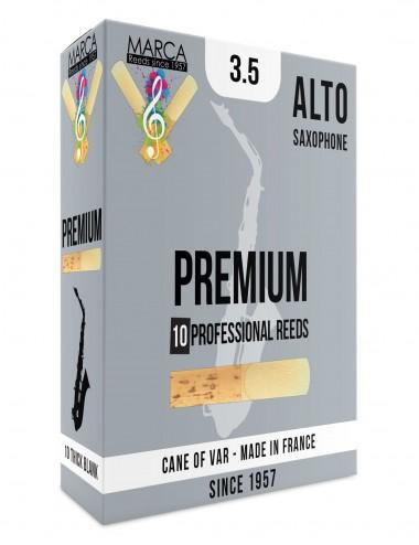 10 REEDS MARCA PREMIUM ALTO SAXOPHONE 3.5
