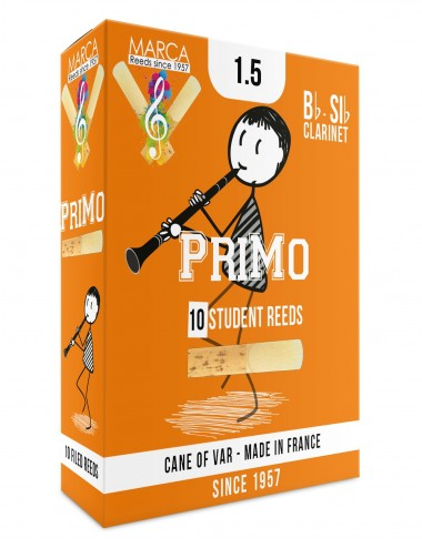10 REEDS MARCA PriMo BB CLARINET 1.5