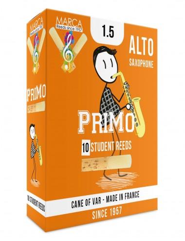 10 REEDS MARCA PriMo ALTO SAXOPHONE 1.5