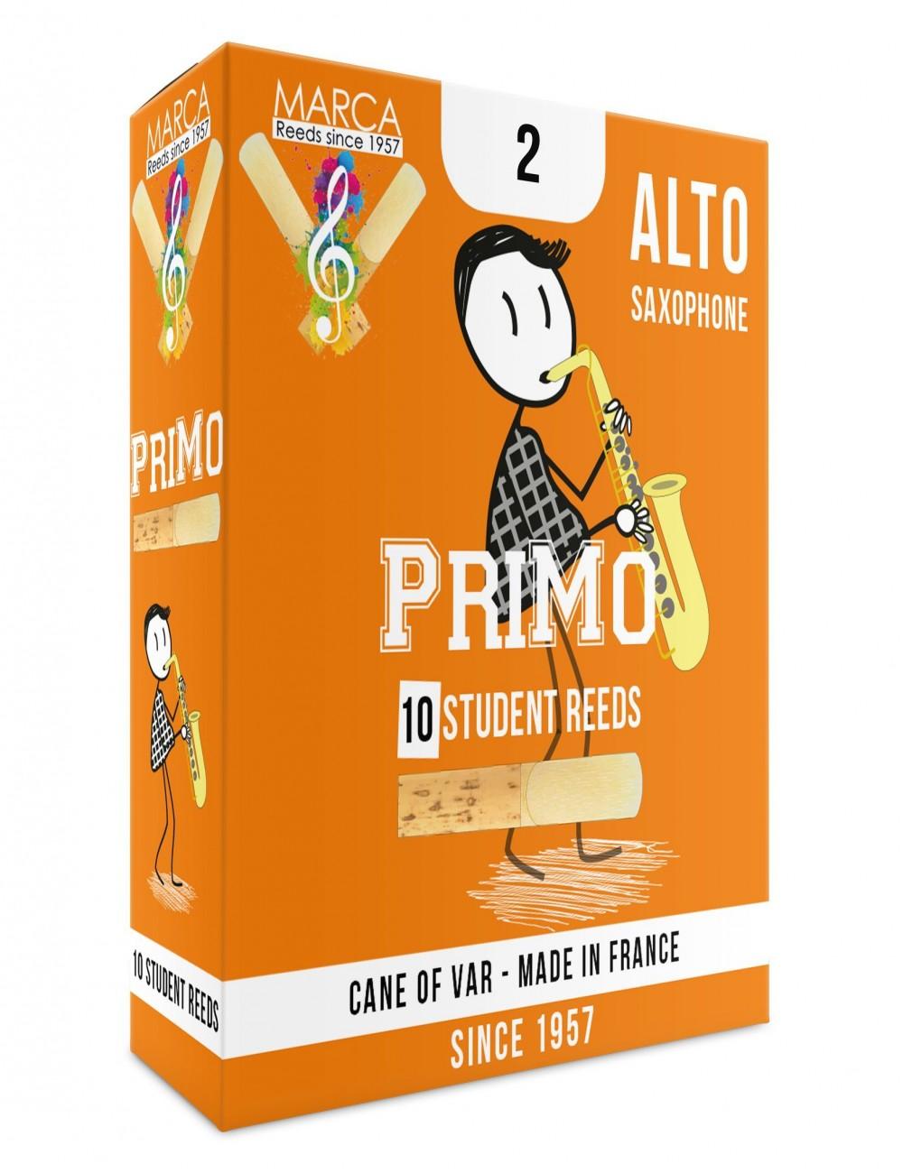 10 REEDS MARCA PriMo ALTO SAXOPHONE 2