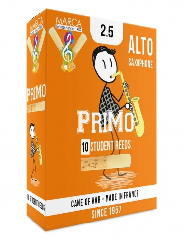 10 ANCHES MARCA PriMo SAXOPHONE ALTO 2.5