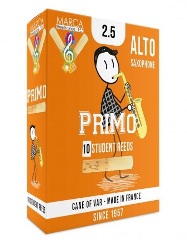 10 REEDS MARCA PriMo ALTO SAXOPHONE 2.5