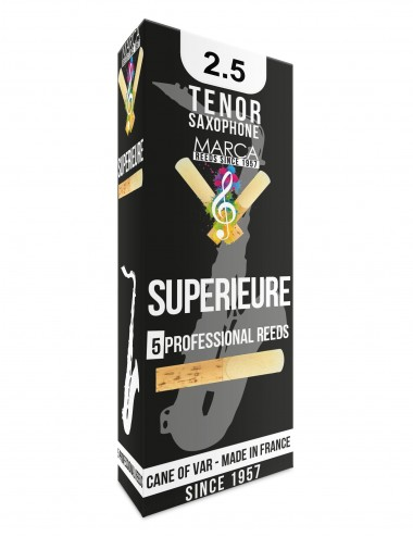 5 ANCHES MARCA SUPERIEURE SAXOPHONE TENOR 2.5