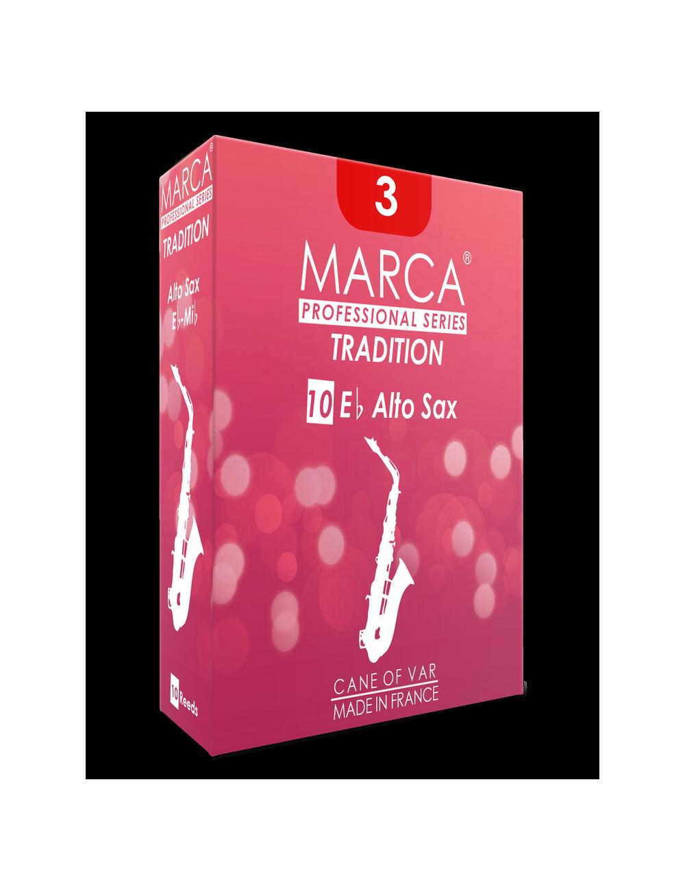 10 REEDS MARCA TRADITION ALTO SAXOPHONE 4