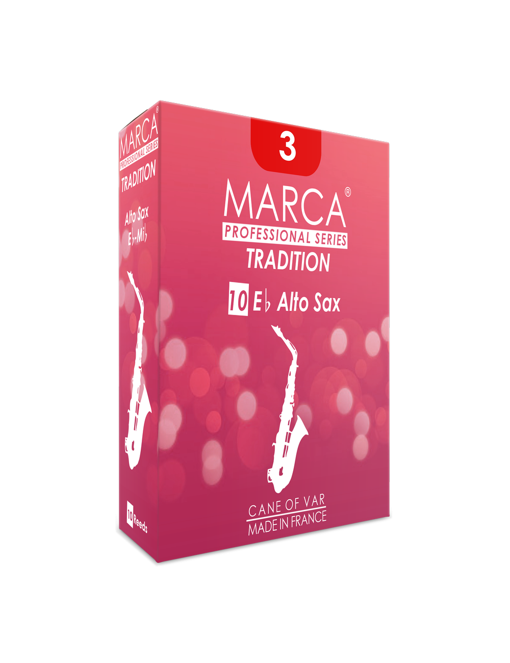 10 REEDS MARCA TRADITION ALTO SAXOPHONE 3.5