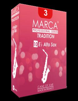 10 REEDS MARCA TRADITION ALTO SAXOPHONE 3.5