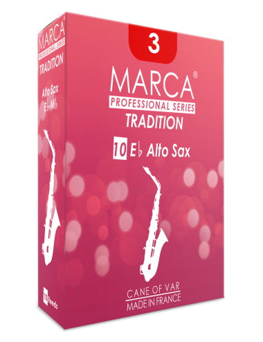 10 REEDS MARCA TRADITION ALTO SAXOPHONE 2.5