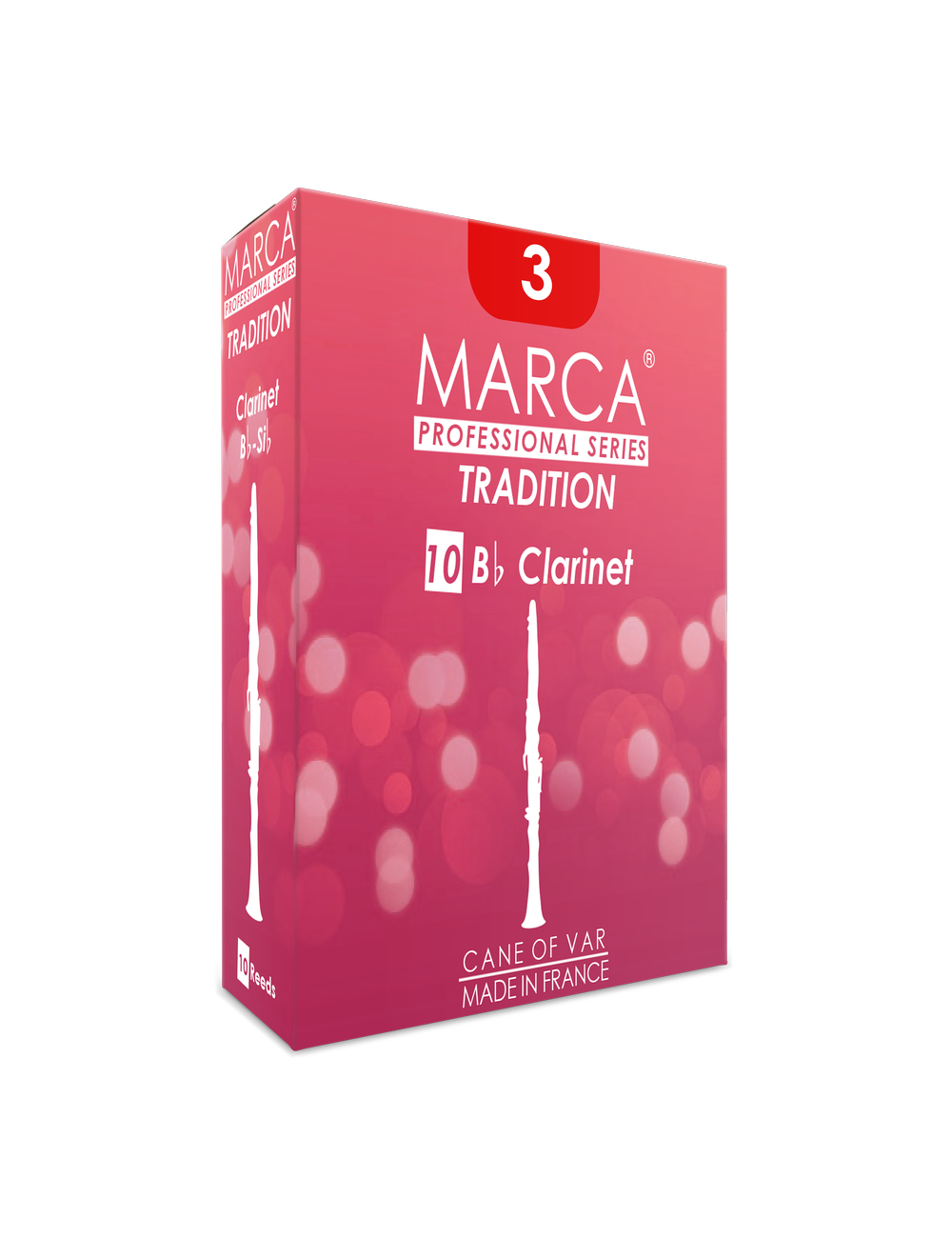 10 REEDS MARCA TRADITION BB CLARINET 4.5