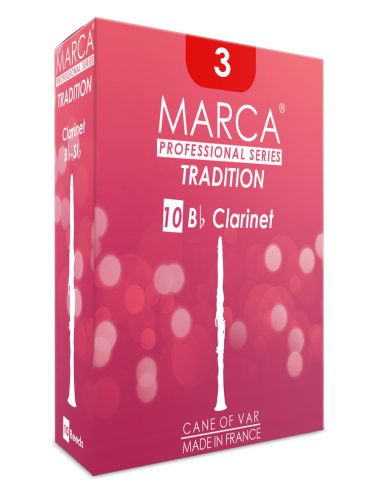 10 REEDS MARCA TRADITION BB CLARINET 3.5