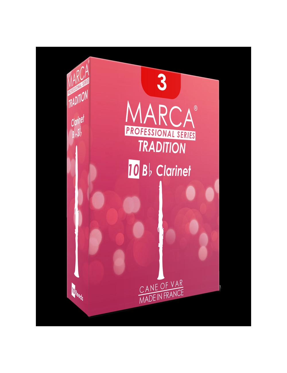 10 ANCHES MARCA TRADITION CLARINETTE SIB 2