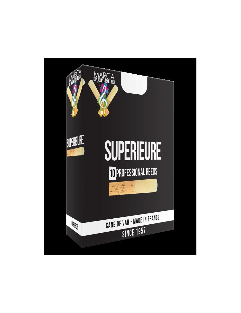 10 REEDS MARCA SUPERIEURE ALTO CLARINET 1.5