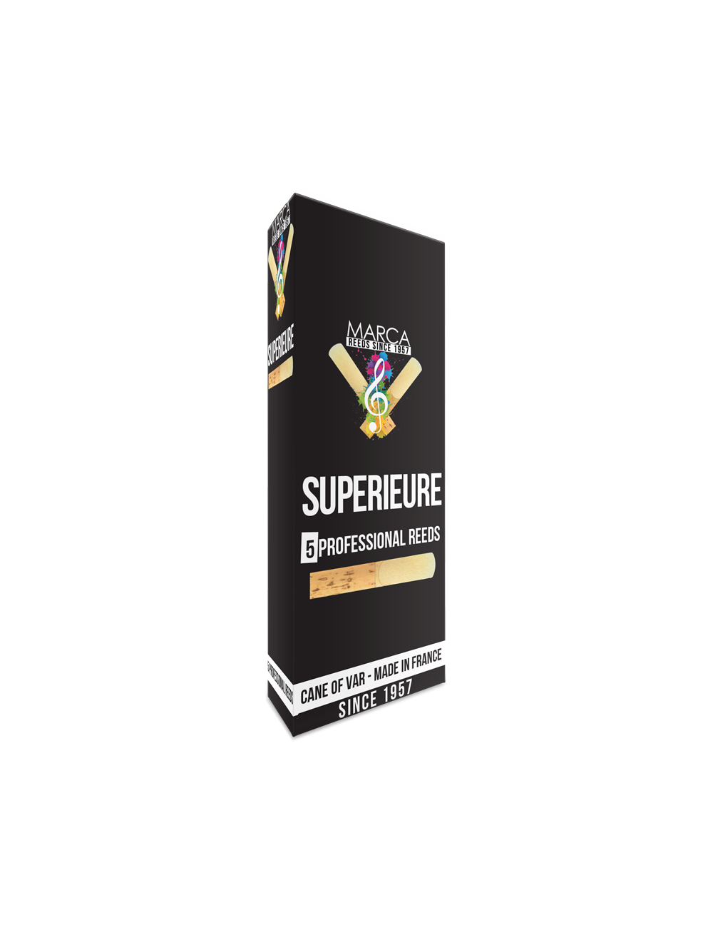 5 REEDS MARCA SUPERIEURE BASS SAXOPHONE 5