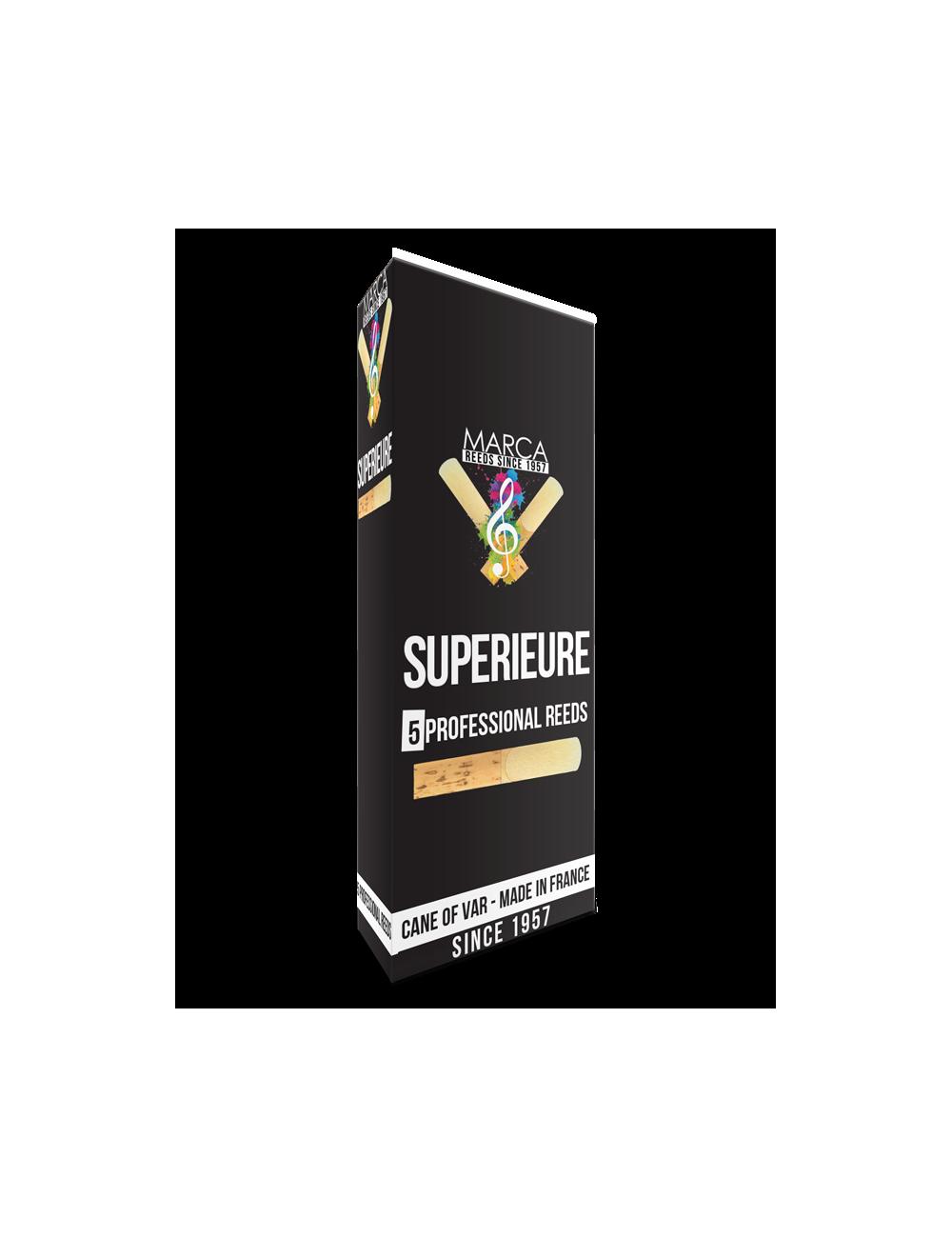 5 REEDS MARCA SUPERIEURE BASS SAXOPHONE 4.5