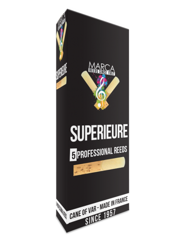 5 ANCHES MARCA SUPERIEURE SAXOPHONE BASSE 2.5