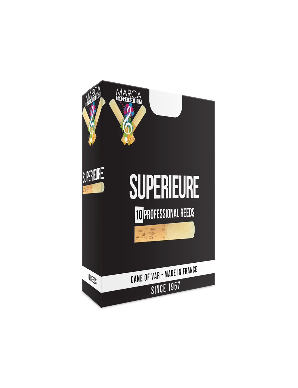 10 ANCHES MARCA SUPERIEURE CLARINETTE MIB 3.5