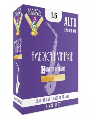 10 ANCHES MARCA AMERICAN VINTAGE SAXOPHONE ALTO 1.5