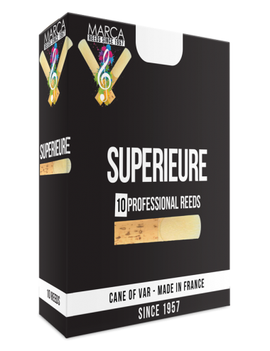 10 REEDS MARCA SUPERIEURE SOPRANINO SAXOPHONE 4.5