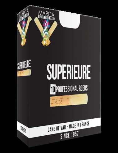 10 REEDS MARCA SUPERIEURE SOPRANINO SAXOPHONE 3.5