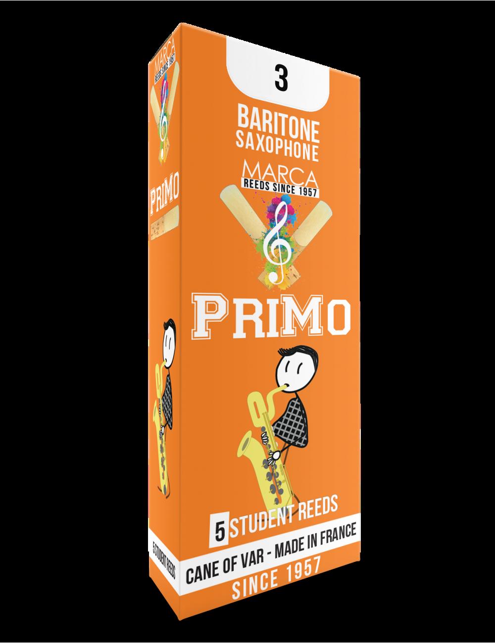 10 REEDS MARCA PriMo BARITONE SAXOPHONE 3