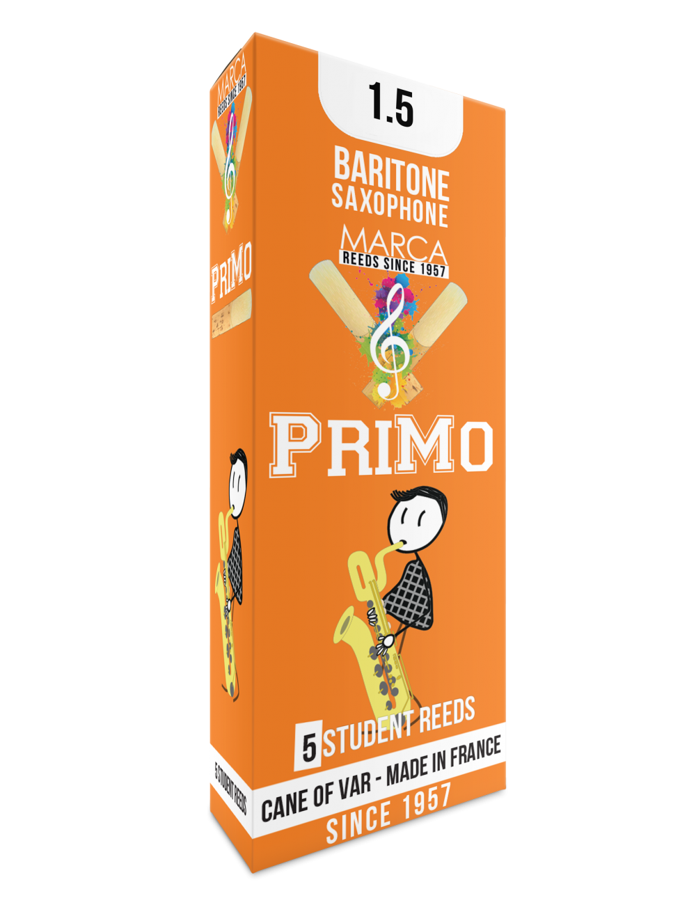 10 REEDS MARCA PriMo BARITONE SAXOPHONE 1.5