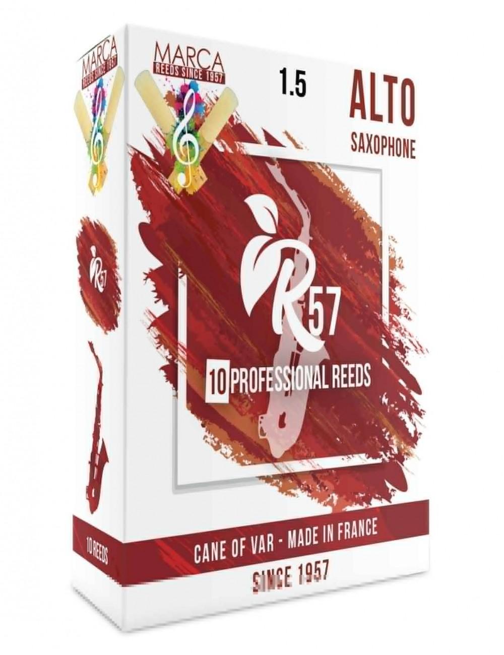10 REEDS MARCA R57 ALTO SAXOPHONE 1.5
