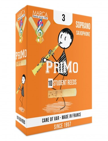 10 REEDS MARCA PriMo SOPRANO SAX 3