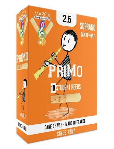 10 REEDS MARCA PriMo SOPRANO SAX 2.5