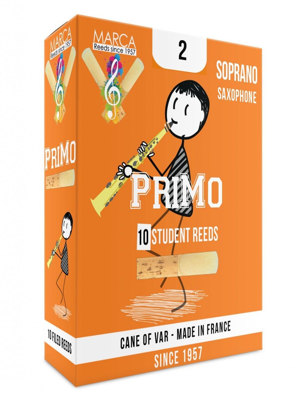 10 ANCHES MARCA PriMo SAXOPHONE SOPRANO 2