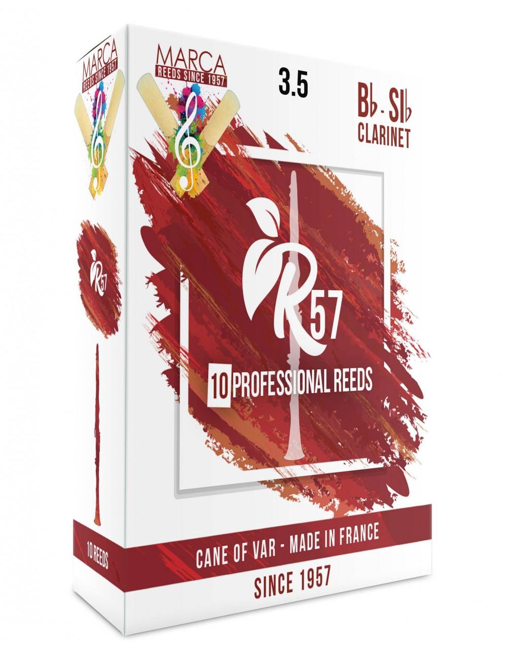 10 REEDS MARCA R57 BB CLARINET 3.5