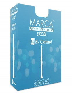 10 REEDS MARCA EXCEL BB CLARINET 2.5