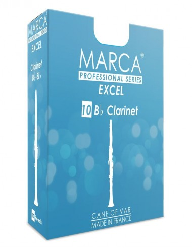 10 REEDS MARCA EXCEL BB CLARINET 3.5