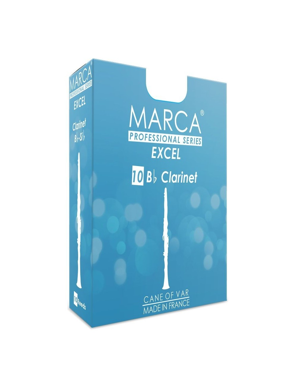 10 REEDS MARCA EXCEL BB CLARINET 3.5
