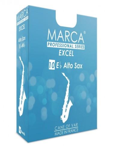 10 ANCHES MARCA EXCEL SAXOPHONE ALTO 2.5