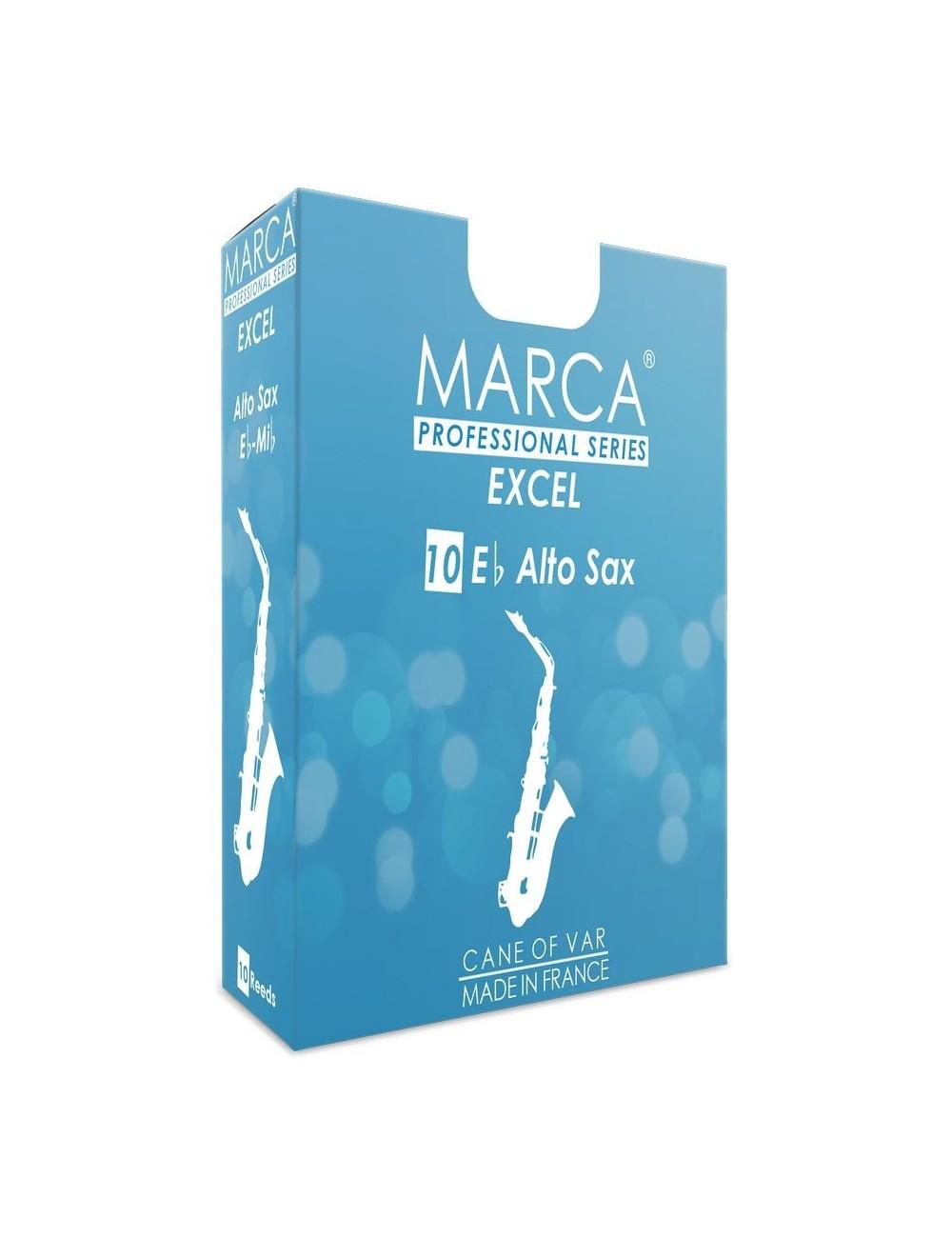 10 REEDS MARCA EXCEL ALTO SAXOPHONE 3.5