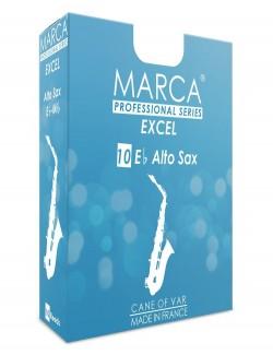 10 REEDS MARCA EXCEL ALTO SAXOPHONE 4.5