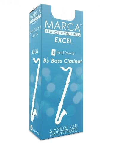 5 REEDS MARCA EXCEL BASS CLARINET 4.5