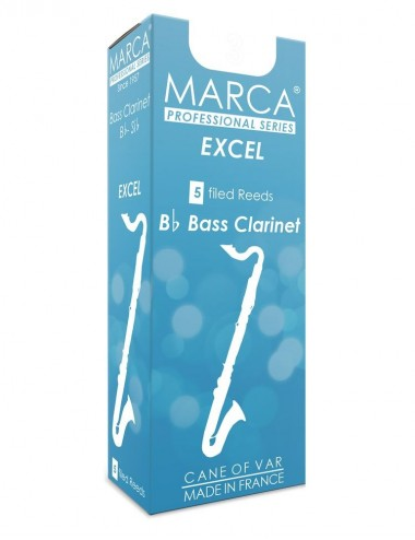 5 REEDS MARCA EXCEL BASS CLARINET 5