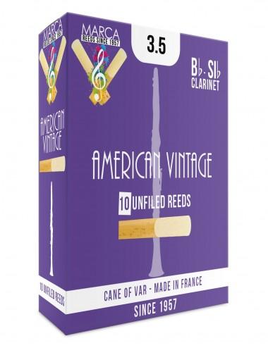 10 REEDS MARCA AMERICAN VINTAGE BB CLARINET 3.5