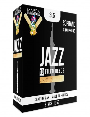 10 ANCHES MARCA JAZZ FILED SAXOPHONE SOPRANO 3.5