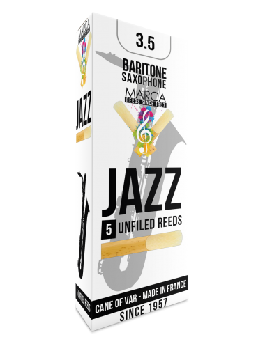 5 REEDS MARCA JAZZ UNFILED BARITONE SAXOPHONE 3.5
