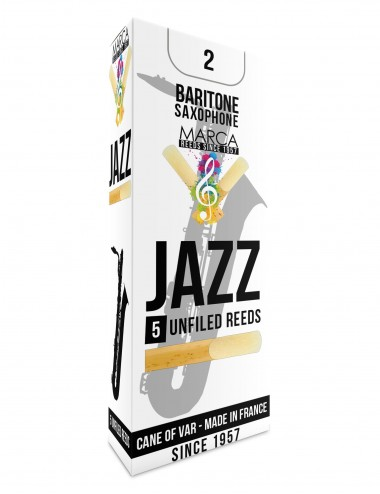 5 REEDS MARCA JAZZ UNFILED BARITONE SAXOPHONE 2